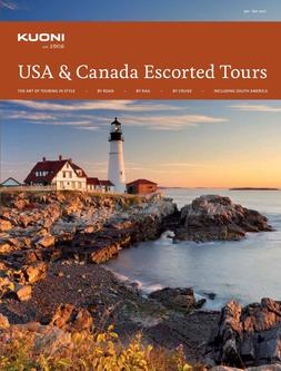 USA & Canada Escorted Tours 2017