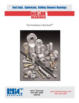 Heim Rod Ends and Sphericals