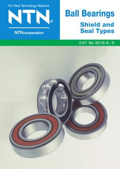Ball Bearings Shield and Seal Types