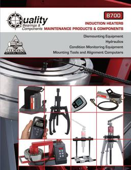 B700 QBC/BEGA Maintenance Products