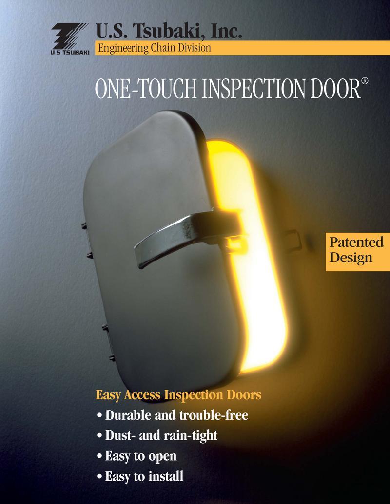 & One-Touch Inspection Door® Brochure by U.S. Tsubaki