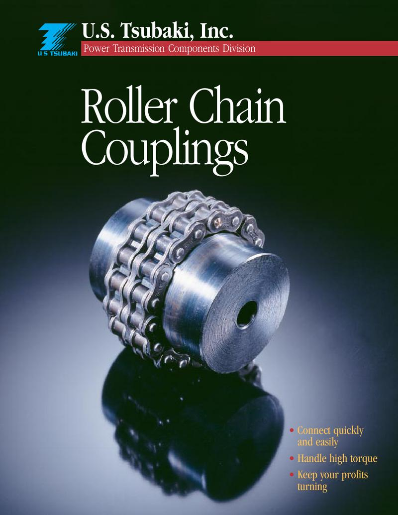 Roller Chain Couplings by U S  Tsubaki