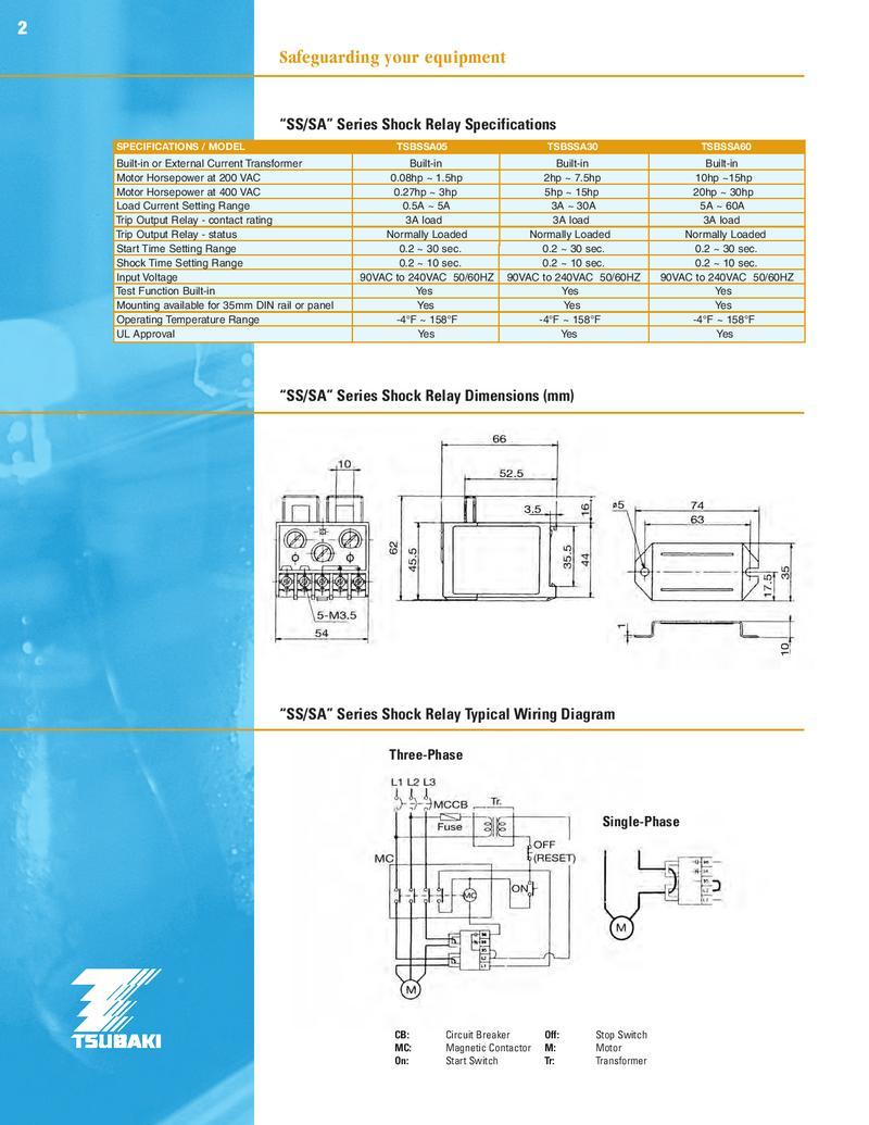 Shock Relay by U.S. Tsubaki | Tsubaki Wiring Diagram |  | Who-Sells-it