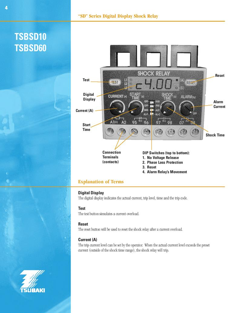 Shock Relay By Us Tsubaki Current Alarm P 1 13