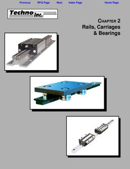 Rails Carriages & Bearings