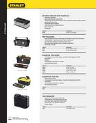 stanley hand tools catalogue pdf