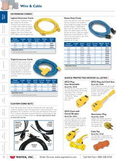catalogue  waytek  inc  cords