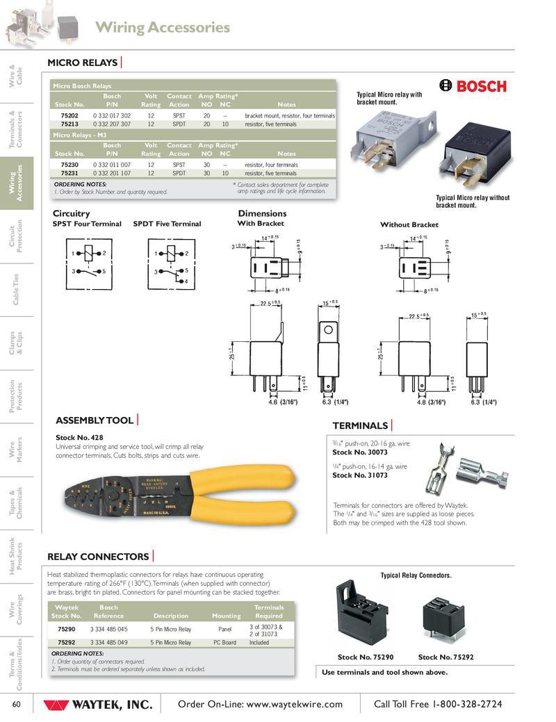 Micro Relays Tools By Waytek Inc Wiring P 1 2