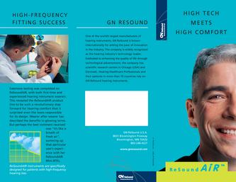 GN Resound AiR Consumer Brochure