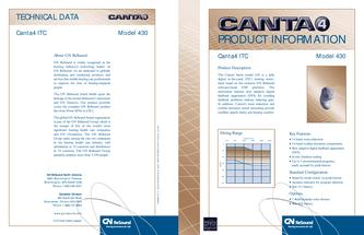 GN Resound Canta 4 In the Canal 430 Technical Guide