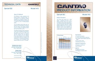 GN Resound Canta 4 Completely in the Canal 410 Technical Guide