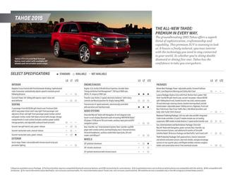Tahoe Spec Sheet 2015