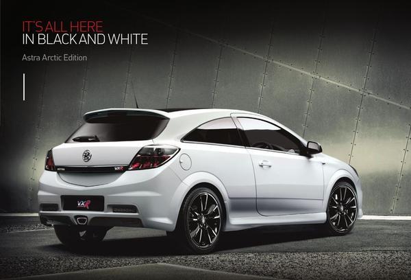 Vauxhall Astra Vxr White