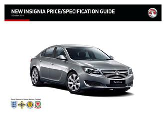 New Insignia Price Guide 2014