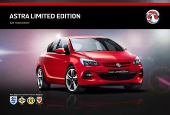 Vauxhall Astra Limited Edition 2014