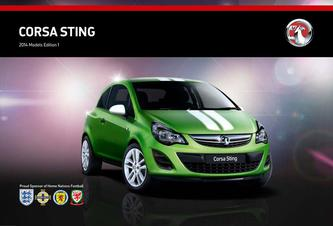 Corsa Sting Limited Edition 2014