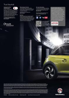 Vauxhall Adam Rocks Air 2014