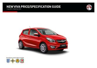 Viva Price and Specifications Guide 2015