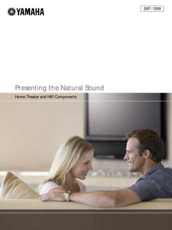 Digital Home Theater 2007/2008 New Products Catalog
