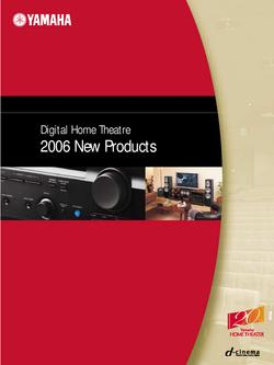 Digital Home Theater 2006 New Products Catalog