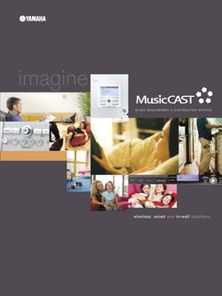 Music Management & Distribution System Music CAST Brochure