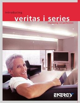 Energy Speaker Systems Veritas i Series Brochure