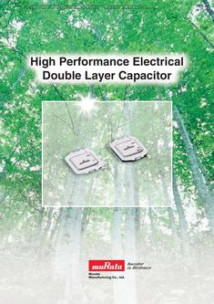 Electrical Double LayerCapacitor 2012