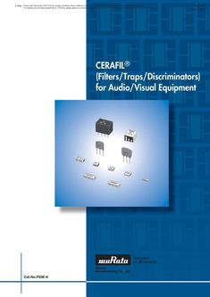 "CERAFIL®"" (Filters/Traps/Discriminators) for Audio/Visual Equipment"