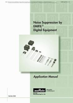 EMI Suppression Filters for Digital Equipment