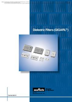 "Dielectric Filters ""GIGAFIL"""