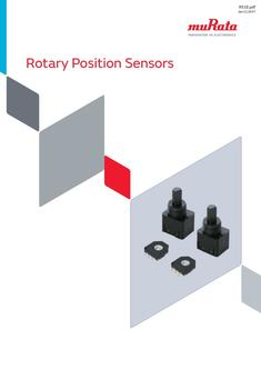 Rotary Position Sensors 11/01/2017