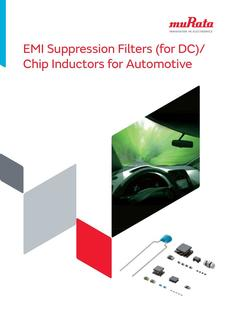 EMI Suppression Filters (for DC)/Chip Inductors for Automotive 30/09/2014