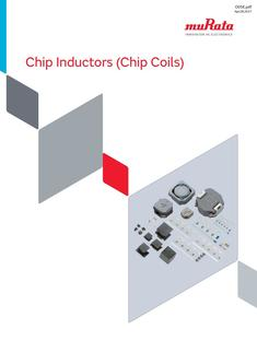 Chip Inductors (Chip Coils) 28/04/2017