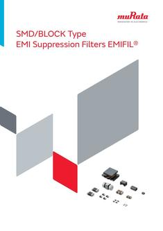 SMD/BLOCK Type EMI Suppression Filters EMIFIL® 24/09/2014
