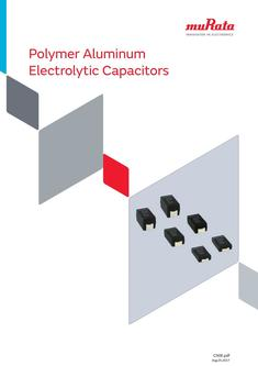 Polymer Aluminum Electrolytic Capacitors 25/08/2017