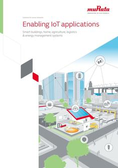 Solutions for sensor networks Enabling IoT applications 12/06/2017