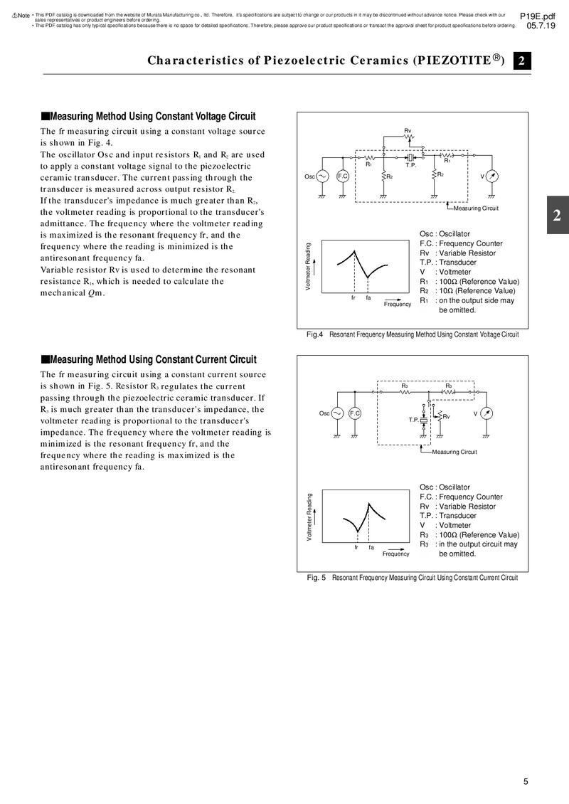 Page 4 of Piezoelectric Ceramics Sensors