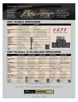 HDT-WM5 In-Wall