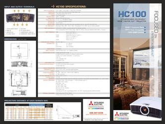 HC100U Ultraportable Colorview Home Theater DLP Projector
