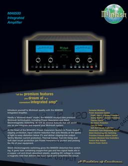 MA6500 Integrated Amplifier