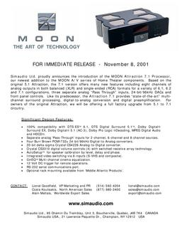 Moon Attraction 7.1 Processor