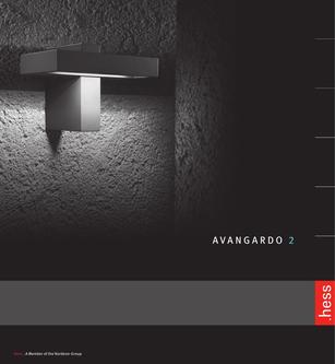 AVANGARDO 2 Lights 2017 Brochure