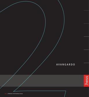 AVANGARDO 2 Catalogue 2014