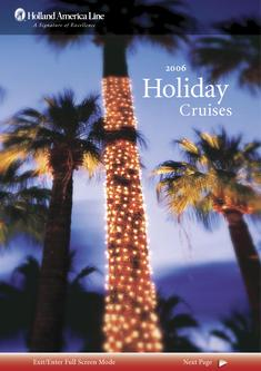 Holiday Cruises 2006