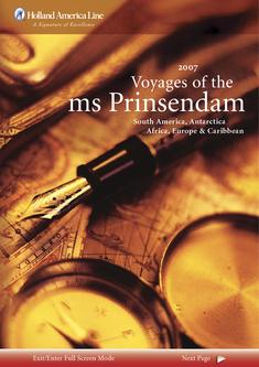 2007 Voyages of the Ms Prinsendam