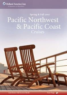 Pacific Northwest & Pacific Coast Cruises 2007