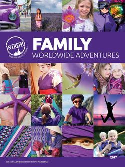 Family Worldwide Adventures 2017