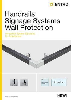 Handrails Signage Systems Wall Protection 2013