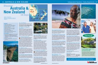 Discover Australia & New Zealand in 18 days