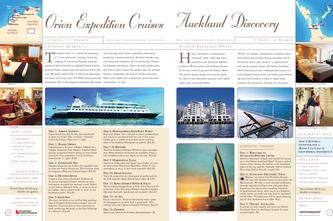 Orion Expedition Cruises - Auckland Discovery